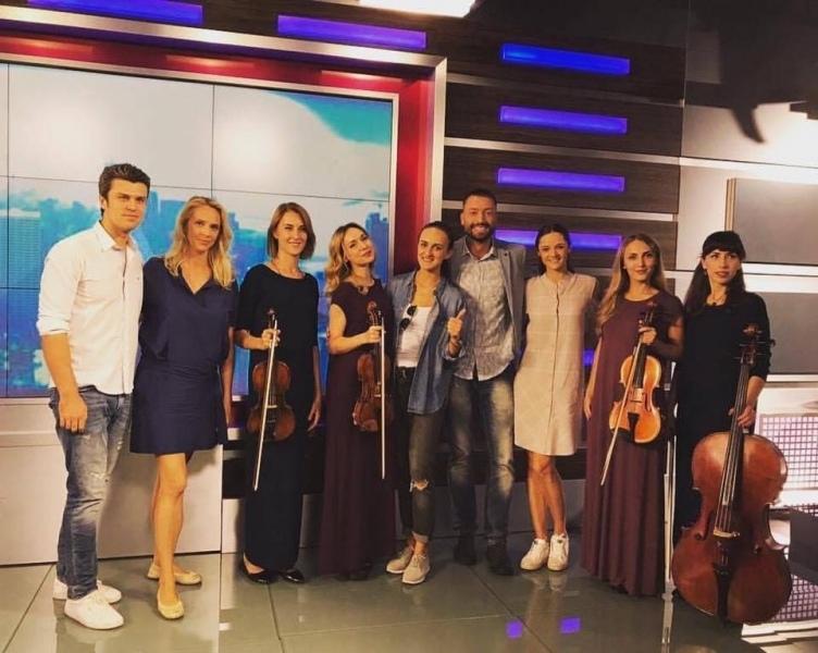 Black Tie и Евгений Хмара на канале onenews