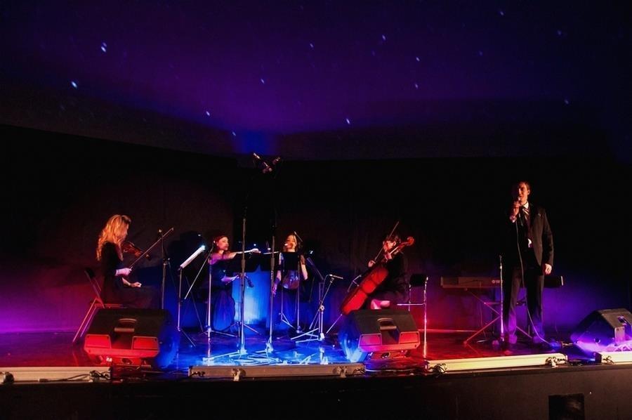 Струнный квартет «Black Tie» -концерт Классика под звездами