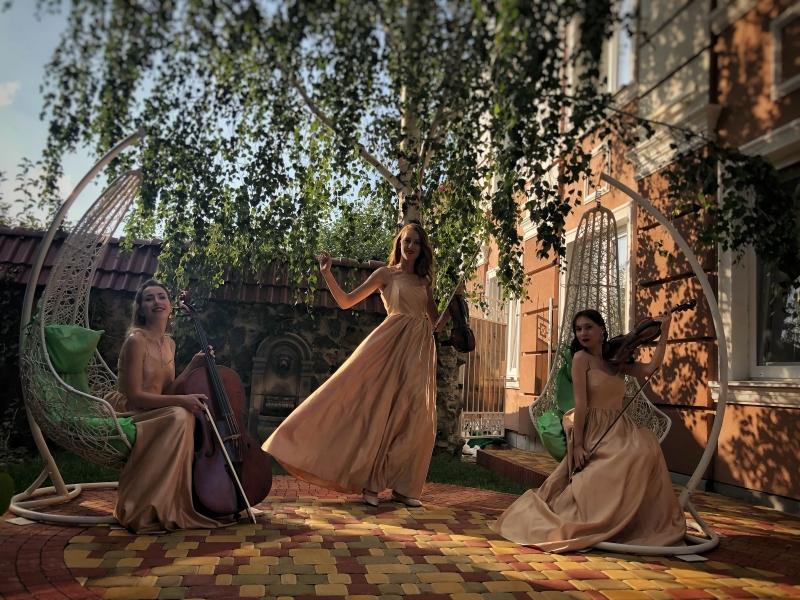 струнное трио на свадьбу киев