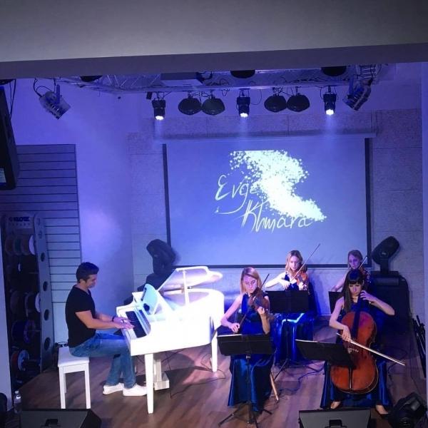 Евгений Хмара и Black Tie на концерте магазина Jam