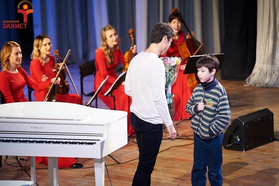 Благодійний концерт «Музика, що зцілює» за участю композитора, піаніста-віртуоза Євгена Хмари та струнного квартета Блек Тай