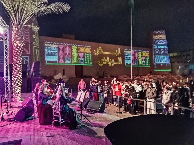 Black Tie квартет выступил перед публикой в Саудовской Аравии