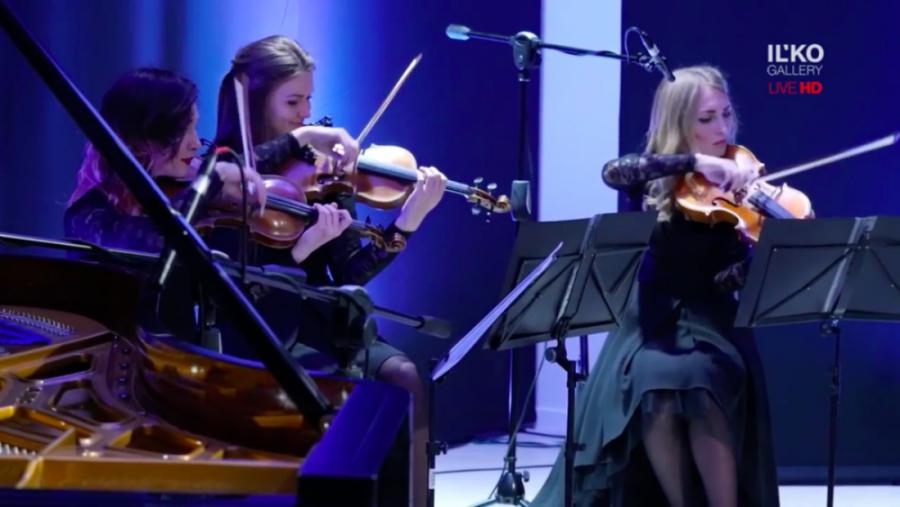 viviennemort & blacktiequartet-концерт в Ужгороде