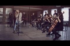 Струнный квартет «Black Tie» съемки клипа для Aelyn