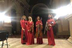 Black Tie string quartet в органном зале во Львове