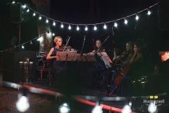 Струнный квартет Блэк Тай на благотворительном концерте