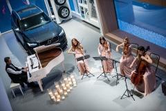 Black Tie quartet Evgeniy Khmara. Volvo cars