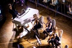 Белый рояль и струнный квартет