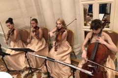 Скрипичный квартет в отеле Фермонт