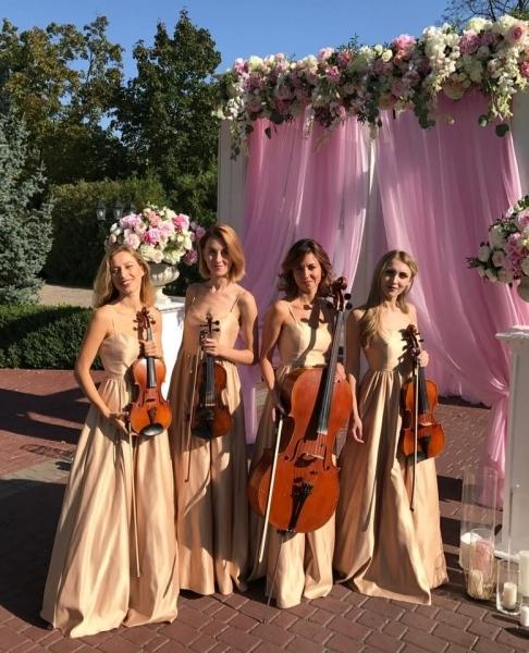 Струнный квартет «Black Tie» (Блэк Тай) gold wedding