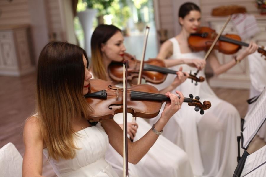Струнный квартет «Black Tie» (Блэк Тай) белая свадьба