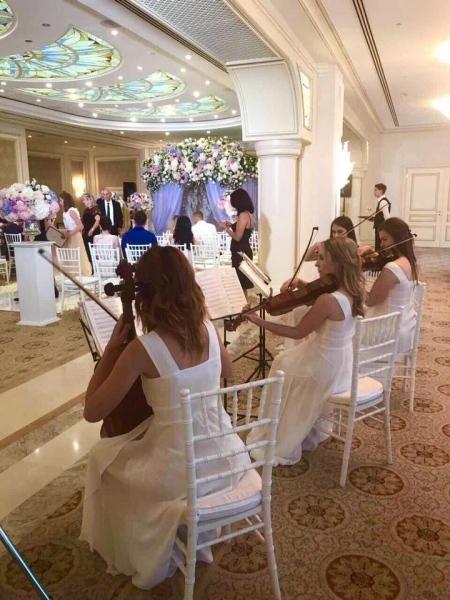 Струнный квартет «Black Tie» (Блэк Тай) white wedding